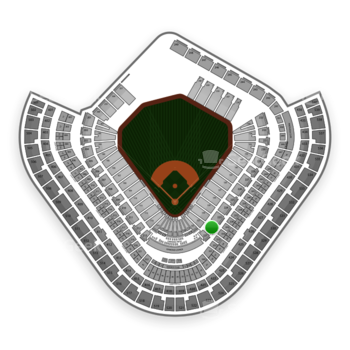 Los Angeles Angels at Angel Stadium Section 222 View