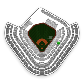 Los Angeles Angels at Angel Stadium Section 227 View