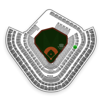 Los Angeles Angels at Angel Stadium Section 229 View