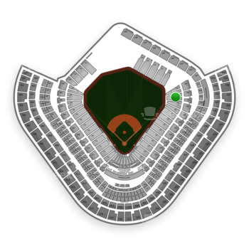 Los Angeles Angels at Angel Stadium Section 134 View