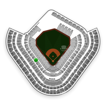 Los Angeles Angels at Angel Stadium Section 209 View