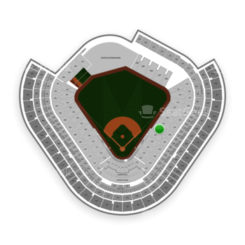 Los Angeles Angels at Angel Stadium Section 128 View