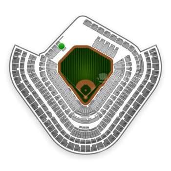 Los Angeles Angels at Angel Stadium Section 257 View