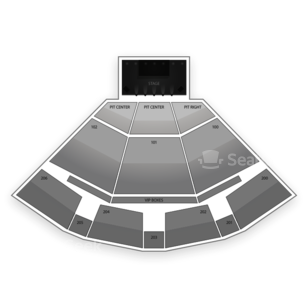 PNC Pavilion Seating Chart Theater