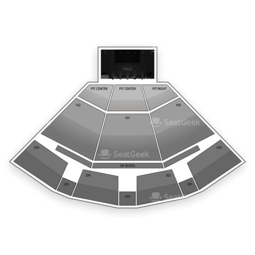 PNC Pavilion Seating Chart