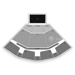 PNC Pavilion Seating Chart Comedy