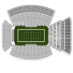 Virginia Tech Hokies Football Seating Chart