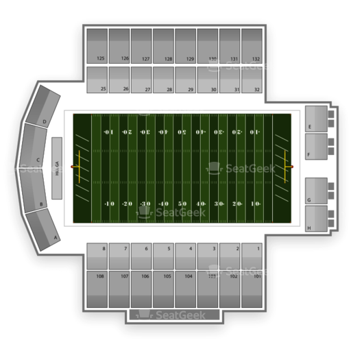 Navy Marine Corps Memorial Stadium Seating Chart