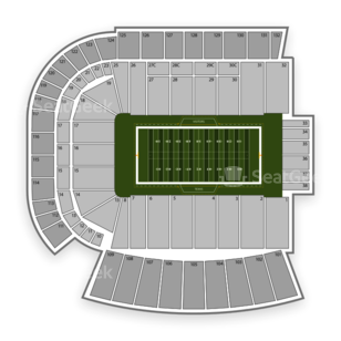 Texas Longhorns Football Seating Chart
