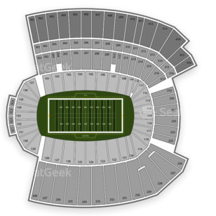 Armed Forces Bowl Seating Chart