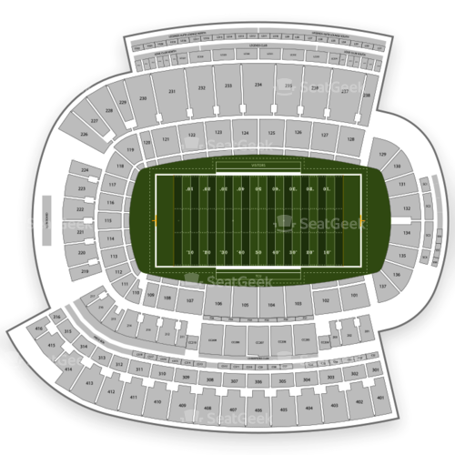 TCU Horned Frogs Football Seating Chart