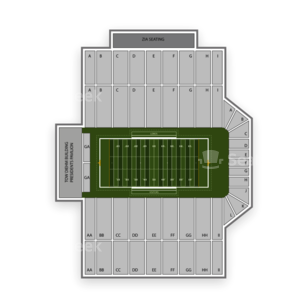 New Mexico Bowl Seating Chart