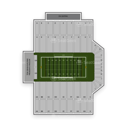 New Mexico Lobos Football Seating Chart