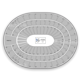 Los Angeles Sports Arena Seating Chart Family
