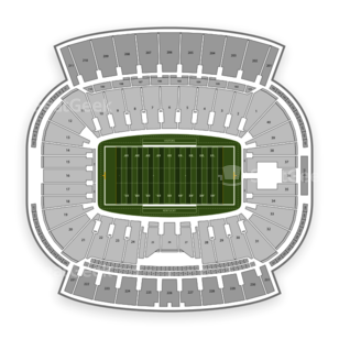Kentucky Wildcats Football Seating Chart