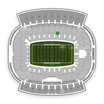 Kentucky Wildcats Football at Kroger Field Section 5 View