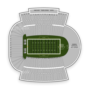 Missouri Tigers Football Seating Chart