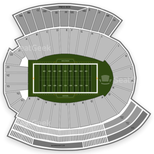 Camp Randall Stadium Seating Chart Parking