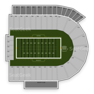 Cincinnati Bearcats Football Seating Chart