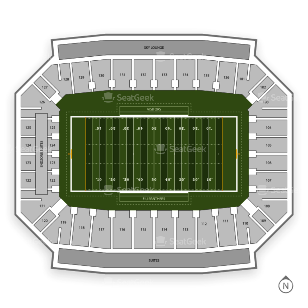 FIU Golden Panthers Football Seating Chart