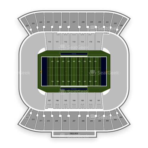 Rice Owls Football Seating Chart