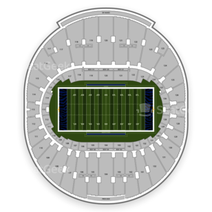 Liberty Bowl Stadium Seating Chart Concert