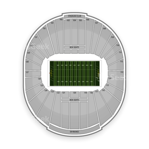 Liberty Bowl Stadium Seating Chart NCAA Football