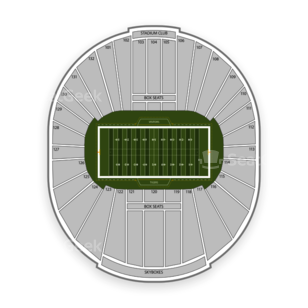 Memphis Tigers Football Seating Chart
