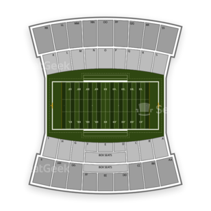 Louisiana Tech Bulldogs Football Seating Chart