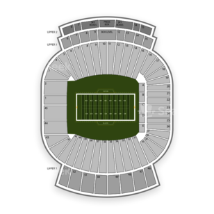 Legion Field Seating Chart NCAA Football