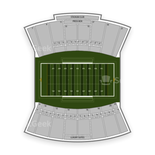 Bowling Green Falcons Football Seating Chart