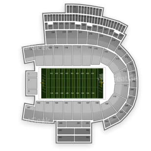 Colorado Buffaloes Football Seating Chart