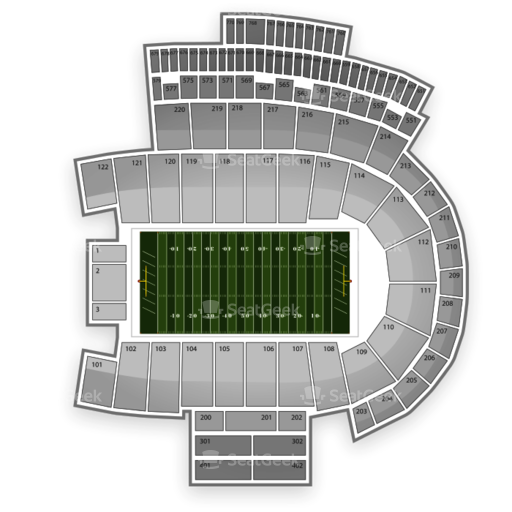Folsom Field Seating Chart