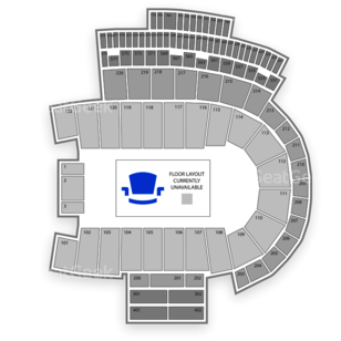 Folsom Field Seating Chart Concert