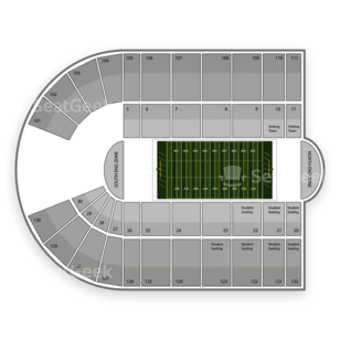 Bronco Stadium Seating Chart Amp Interactive Seat Map  SeatGeek