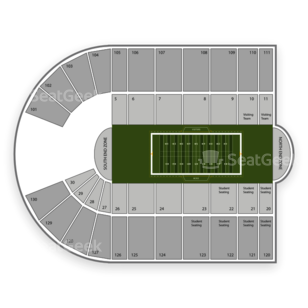 Albertsons Stadium Seating Chart NCAA Football
