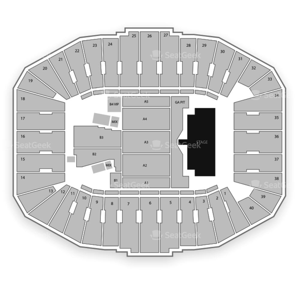 War Memorial Stadium Seating Chart Concert