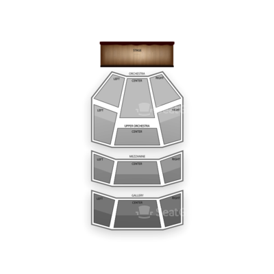 Hobby Center seating chart Newsies