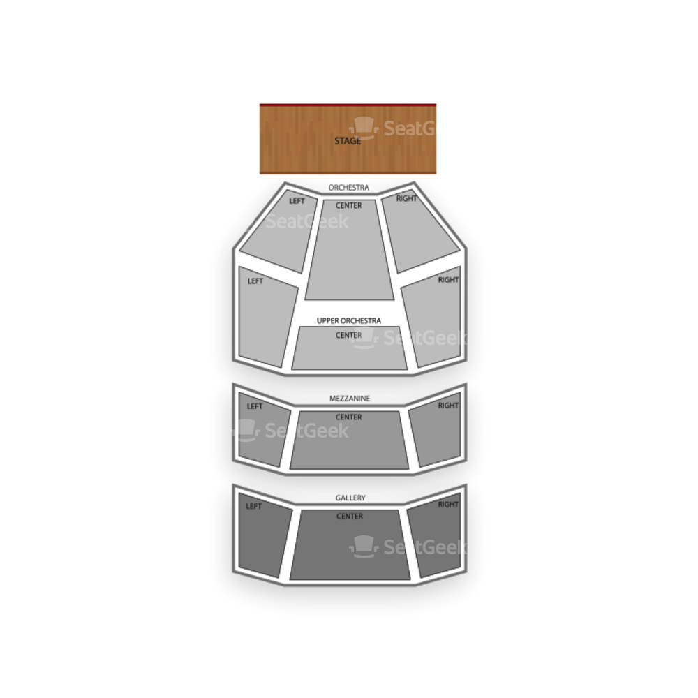 Hobby Center Seating Chart Theater