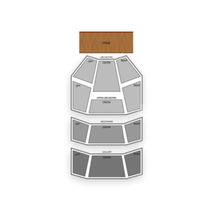 Hobby Center Seating Chart Classical