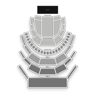 Four Seasons Centre Seating Chart Dance Performance Tour