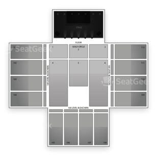 Red Rock Casino Seating Chart Concert