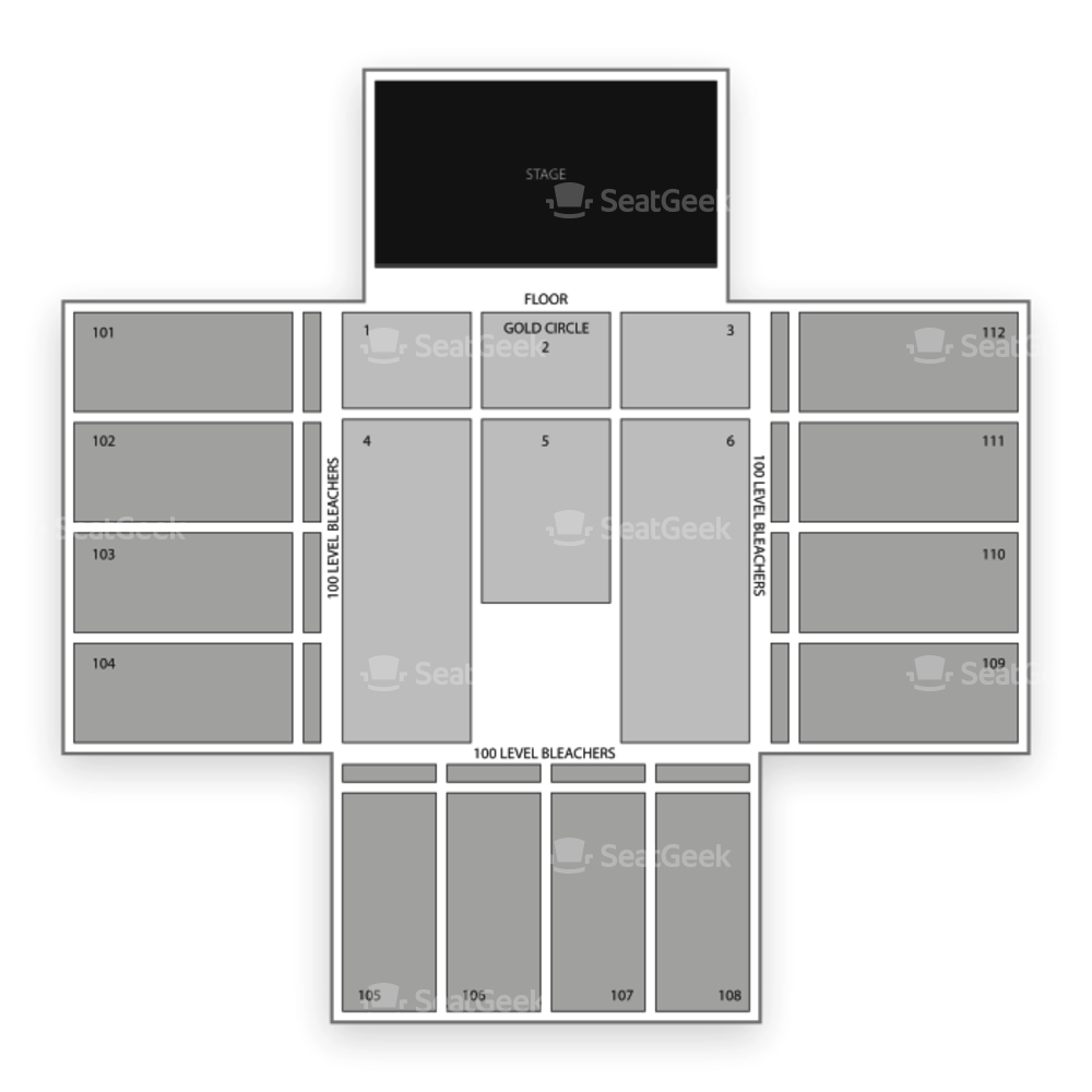 Red Rock Casino and Resort Seating Chart Concert