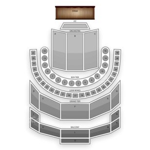 Brown Theatre (Houston) Seating Chart Theater