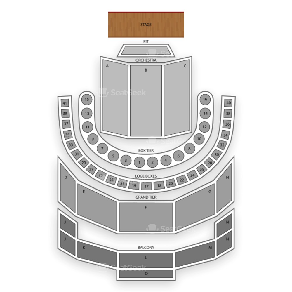 Brown Theatre (Houston) Seating Chart Dance Performance Tour