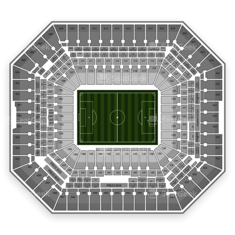 Sun Life Stadium seating chart England National Soccer Team