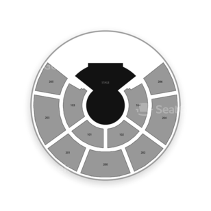 Hard Rock Stadium Seating Chart Cirque Du Soleil