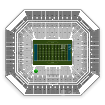 Miami Dolphins at Hard Rock Stadium Section 150 View
