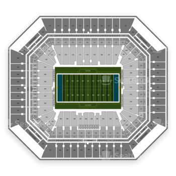 Miami Dolphins at Hard Rock Stadium Section 203 View