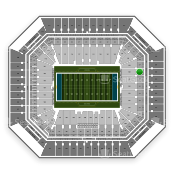 Miami Dolphins at Hard Rock Stadium Section 230 View